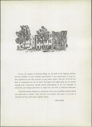 Page 9, 1952 Edition, Richwood High School - Tigrtrax Yearbook (Richwood, OH) online yearbook collection