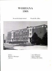 Page 5, 1968 Edition, Woodville High School - Wohiana Yearbook (Woodville, OH) online yearbook collection