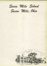 Page 7, 1954 Edition, Seven Mile High School - Panther Tracks Yearbook (Seven Mile, OH) online yearbook collection