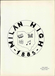 Page 7, 1963 Edition, Milan High School - Light Yearbook (Milan, OH) online yearbook collection