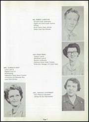 Page 11, 1955 Edition, Walnut Township High School - Kernel Yearbook (Ashville, OH) online yearbook collection