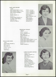 Page 15, 1955 Edition, Walnut Township High School - Kernel Yearbook (Ashville, OH) online yearbook collection