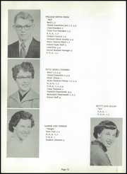 Page 16, 1955 Edition, Walnut Township High School - Kernel Yearbook (Ashville, OH) online yearbook collection