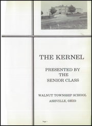 Page 5, 1955 Edition, Walnut Township High School - Kernel Yearbook (Ashville, OH) online yearbook collection
