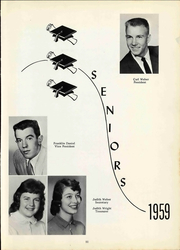 Page 17, 1959 Edition, Attica High School - Aquila Yearbook (Attica, OH) online yearbook collection