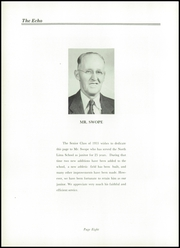 Page 12, 1955 Edition, North Lima High School - Echo Yearbook (North Lima, OH) online yearbook collection