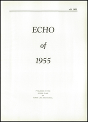 Page 5, 1955 Edition, North Lima High School - Echo Yearbook (North Lima, OH) online yearbook collection