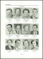 Page 8, 1955 Edition, North Lima High School - Echo Yearbook (North Lima, OH) online yearbook collection