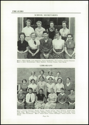 Page 10, 1956 Edition, North Lima High School - Echo Yearbook (North Lima, OH) online yearbook collection