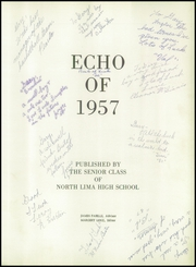 Page 5, 1957 Edition, North Lima High School - Echo Yearbook (North Lima, OH) online yearbook collection