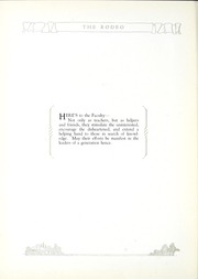 Page 16, 1926 Edition, West High School - Rodeo Yearbook (Akron, OH) online yearbook collection
