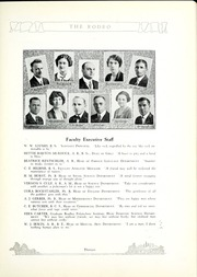 Page 17, 1926 Edition, West High School - Rodeo Yearbook (Akron, OH) online yearbook collection