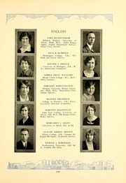 Page 17, 1929 Edition, West High School - Rodeo Yearbook (Akron, OH) online yearbook collection
