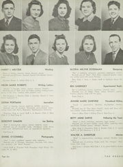 Page 12, 1940 Edition, West High School - Rodeo Yearbook (Akron, OH) online yearbook collection