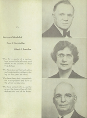 Page 3, 1940 Edition, West High School - Rodeo Yearbook (Akron, OH) online yearbook collection