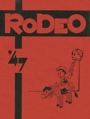 Page 1, 1947 Edition, West High School - Rodeo Yearbook (Akron, OH) online yearbook collection