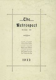 Page 3, 1922 Edition, Blume High School - Retrospect Yearbook (Wapakoneta, OH) online yearbook collection