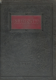 Blume High School - Retrospect Yearbook (Wapakoneta, OH) online yearbook collection, 1926 Edition, Page 1