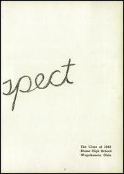 Page 7, 1943 Edition, Blume High School - Retrospect Yearbook (Wapakoneta, OH) online yearbook collection