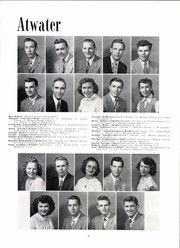 Page 13, 1952 Edition, Atwater Consolidated High School - Speedometer Yearbook (Atwater, OH) online yearbook collection