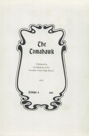 Page 5, 1915 Edition, Ferndale Union High School - Tomahawk Yearbook (Ferndale, CA) online yearbook collection