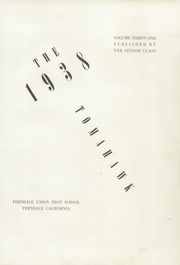 Page 5, 1938 Edition, Ferndale Union High School - Tomahawk Yearbook (Ferndale, CA) online yearbook collection