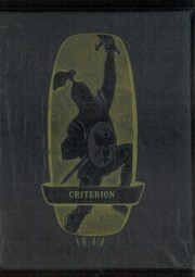 1949 Edition, Jefferson Township High School - Criterion Yearbook (New Paris, OH)