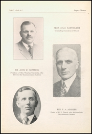 Page 13, 1921 Edition, Gnadenhutten High School - Goal Yearbook (Gnadenhutten, OH) online yearbook collection