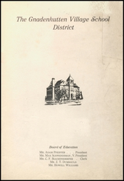 Page 3, 1921 Edition, Gnadenhutten High School - Goal Yearbook (Gnadenhutten, OH) online yearbook collection