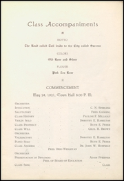 Page 7, 1921 Edition, Gnadenhutten High School - Goal Yearbook (Gnadenhutten, OH) online yearbook collection