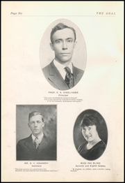 Page 8, 1921 Edition, Gnadenhutten High School - Goal Yearbook (Gnadenhutten, OH) online yearbook collection
