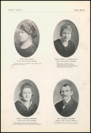 Page 9, 1921 Edition, Gnadenhutten High School - Goal Yearbook (Gnadenhutten, OH) online yearbook collection