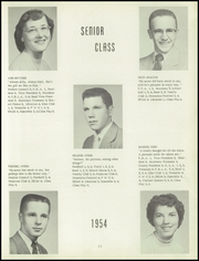 Page 15, 1954 Edition, Harris Elmore High School - Helm Yearbook (Elmore, OH) online yearbook collection