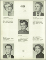 Page 16, 1954 Edition, Harris Elmore High School - Helm Yearbook (Elmore, OH) online yearbook collection