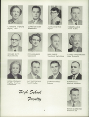 Page 12, 1957 Edition, Harris Elmore High School - Helm Yearbook (Elmore, OH) online yearbook collection