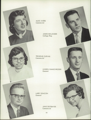 Page 16, 1957 Edition, Harris Elmore High School - Helm Yearbook (Elmore, OH) online yearbook collection