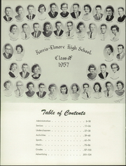 Page 8, 1957 Edition, Harris Elmore High School - Helm Yearbook (Elmore, OH) online yearbook collection