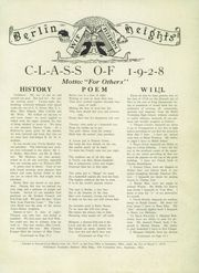 Page 3, 1928 Edition, Berlin Heights High School - Erie Echo Yearbook (Berlin Heights, OH) online yearbook collection