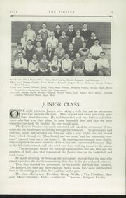 Page 13, 1934 Edition, Poland Seminary High School - Pioneer Yearbook (Poland, OH) online yearbook collection