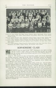 Page 14, 1934 Edition, Poland Seminary High School - Pioneer Yearbook (Poland, OH) online yearbook collection