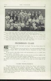 Page 15, 1934 Edition, Poland Seminary High School - Pioneer Yearbook (Poland, OH) online yearbook collection