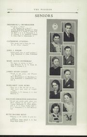 Page 7, 1934 Edition, Poland Seminary High School - Pioneer Yearbook (Poland, OH) online yearbook collection