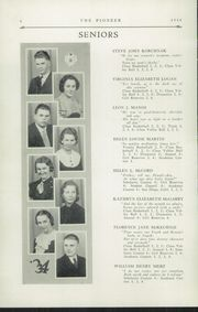 Page 8, 1934 Edition, Poland Seminary High School - Pioneer Yearbook (Poland, OH) online yearbook collection