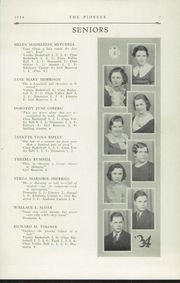 Page 9, 1934 Edition, Poland Seminary High School - Pioneer Yearbook (Poland, OH) online yearbook collection