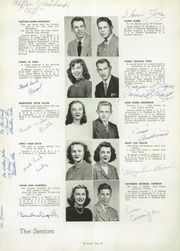 Page 14, 1948 Edition, Poland Seminary High School - Pioneer Yearbook (Poland, OH) online yearbook collection