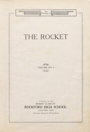 Page 7, 1933 Edition, Rockford High School - Rocket Yearbook (Rockford, OH) online yearbook collection