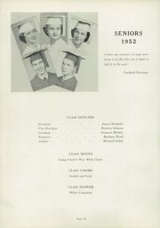 Page 10, 1952 Edition, Piqua Catholic High School - Picada Yearbook (Piqua, OH) online yearbook collection