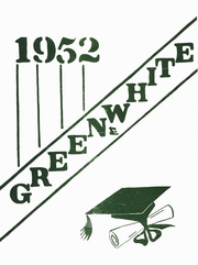 1952 Edition, Green Springs High School - Green and White Yearbook (Green Springs, OH)