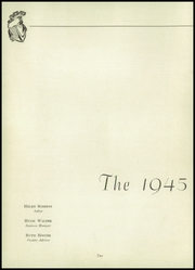 Page 6, 1945 Edition, Shreve High School - Trojan Yearbook (Shreve, OH) online yearbook collection
