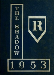 Page 1, 1953 Edition, Ridgeville High School - Shadow Yearbook (Ridgeville Corners, OH) online yearbook collection